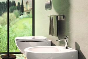 Závěsné wc a bidet Catalano Velis.