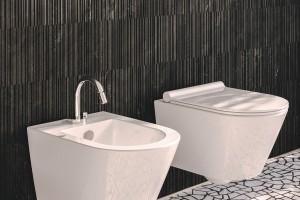Závěsné wc a bidet Catalano New Zero s Newflush