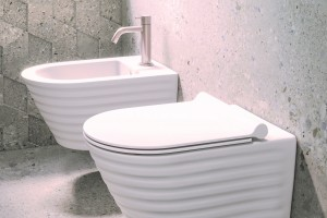 Závěsné wc a bidet New Zero Classy s Newflush.
